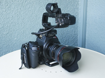 Rent: Canon EOS C100 Cinema Package + Audio + EXTRAS