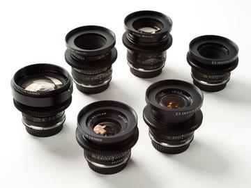 Rent: Leica R 7 Lens Set (19,24,28,35,50,90,135)