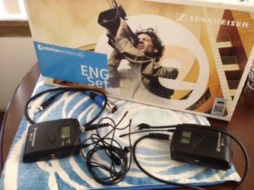 Rent: One Senheisser G3 wireless lav mic