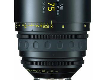Rent: ARRI Master Prime 75mm T1.3