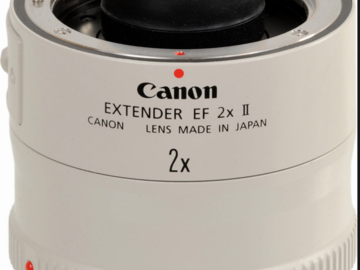 Rent: Canon 2x extender (x2 available)