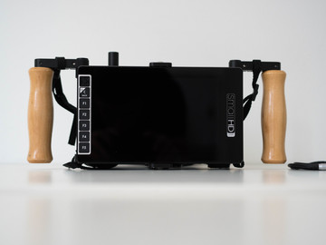 Rent: SmallHD 703 HD 7-in Monitor With Wooden Camera Cage