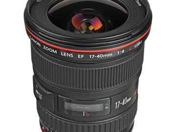Canon L Series Lens 17-40mm f/4
