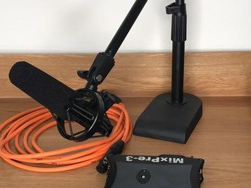 Rent: Amazing small recorder with Audio Technica 875r Shotgun Mic