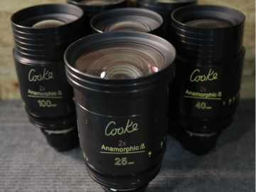 Rent: COOKE ANAMORPHIC | 6 Lens Set | Full Package