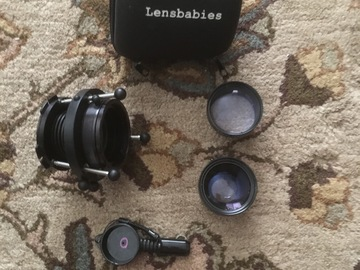 Rent: Lens Baby PL mount Plus Wide and Telephoto Adapters