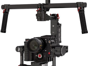 Rent: DJI Ronin 3-Axis Gimbal Stabilizer + Extra Battery