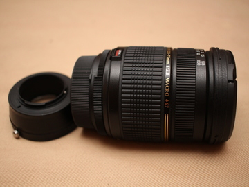 Rent: Tamron 28-75mm for Nikon plus Fotodiox Adapter Micro 4/3