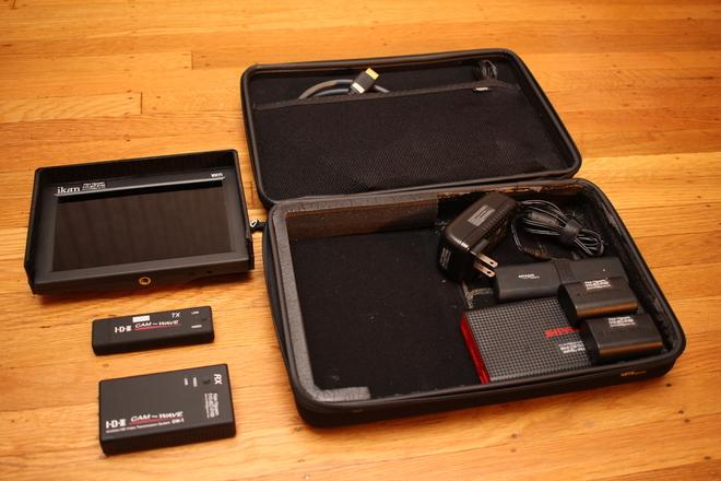 "IDX Wireless HDMI Video System + ikan VH7i-E6 7"" Monitor"