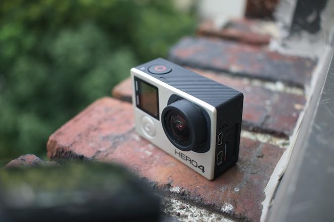 GoPro HERO4 Black + 3 batteries