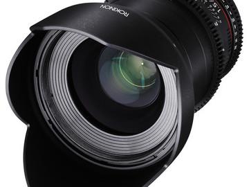 Rent: Rokinon Cine DS Lens Set (EF Mount)