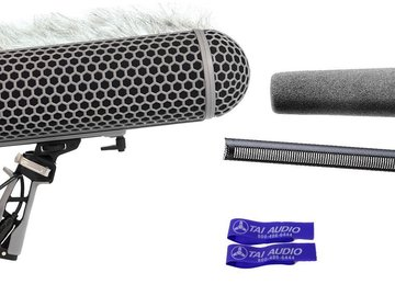 Rent: Sennheiser MKH416 P48 Shotgun Microphone Bundle
