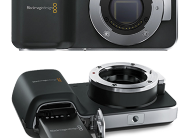 Rent: Blackmagic Pocket Cinema Camera