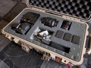 Rent: Sony NEX-FS700R W/ lenses
