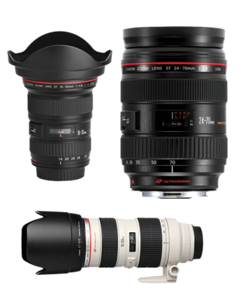 Canon Zoom Lenses Package