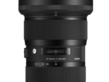 Rent: Sigma 24-35mm 2.0 Zoom