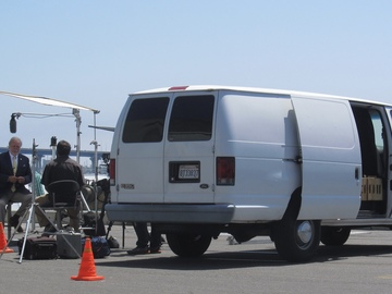 1.5 Ton Lighting and Grip Van w/Gaffer