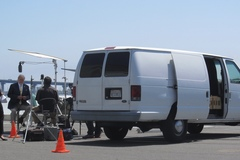 Rent: 1.5 Ton Lighting and Grip Van w/Gaffer