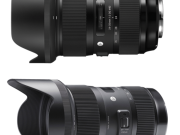 Rent: Sigma Zoom Lenses