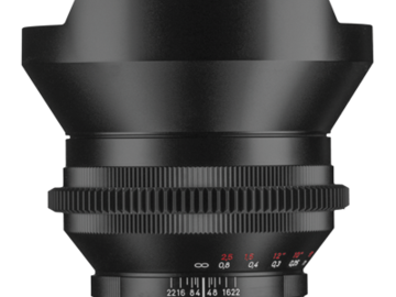 Rent: Zeiss ZF 15mm Prime Lens
