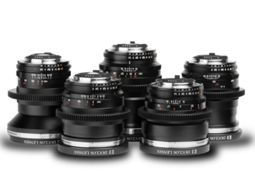 Rent: Zeiss ZF Prime Lenses