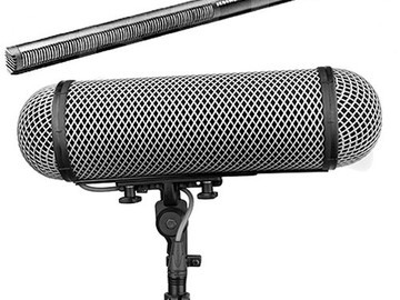 Rent: Sennheiser MKH 416 Short Shotgun