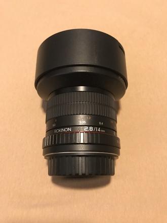 Rokinon AF 14mm f2.8 w/Canon EF Mount