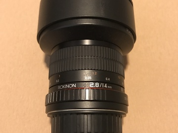 Rokinon AF 14mm f2.8 w/Canon EF Mount