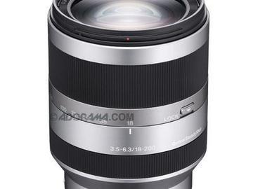 Rent: Sony E 18-200mm f/3.5-6.3 OSS LE