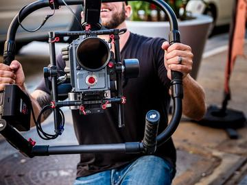 Rent: DJI Ronin-MX 3-Axis Gimbal Stabilizer & Cinema Camera Kit