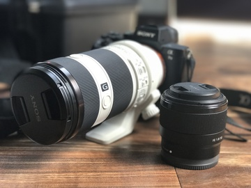 Rent: Sony Alpha a7 II +  Sony FE 70-200mm f4 + Sony FE 50mm 1.8
