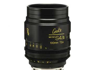 Rent: 100mm Cooke Mini S4i T/2.8 Lens (Listing #2)