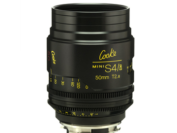 Rent: 50mm Cooke Mini S4i T/2.8 Lens (Listing #2)