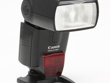 Rent: Canon Speedlite 580EX w/External Battery Pack & Diffuser