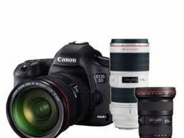 Rent: Canon EOS 5D Mark II 2 Lens Package