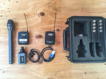 Rent: Wireless Reporter Mic KIT|Includes Wireless Sennheiser Lav