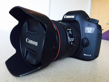Rent: Canon EOS 5D Mark III DSLR Camera with 24-70mm f/4L Lens