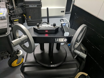 Alpha Wheels w/ XR Module - Gimbal Hand Wheel System