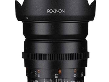 Rent: Rokinon Cine 24mm T1.5