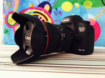 Rent: Canon EOS 5D Mark III DSLR Camera with 24-105mm f/4L Lens