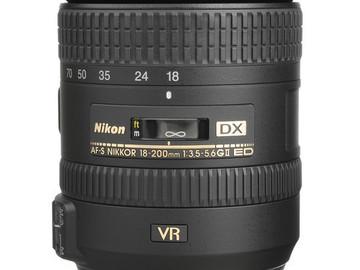 Rent: Nikon 18-200mm f/3.5-5.6G AF-S ED VR II Telephoto Zoom