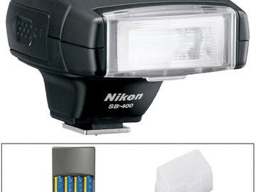 Rent: Nikon SB-400 Flash