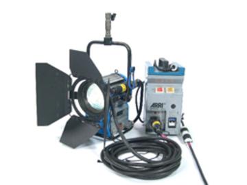 Rent: Arri 575 Watt HMI Fresnel