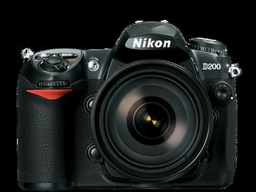Rent: Nikon D200