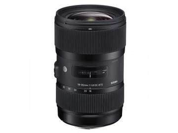 Rent: Sigma 18-35mm f/1.8 DC HSM Art - Nikon F/G Mount