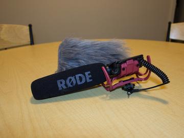Rent: Rode VideoMic Shotgun Microphone with Wind Shield