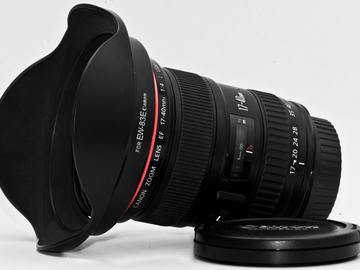 Rent: Canon L series 17-40mm