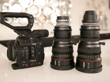 Rent: Canon C300 Mark II & CN-E Compact Zoom Package