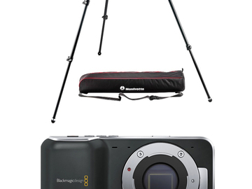 Rent: Blackmagic Pocket Cinema Camera Package PLUS