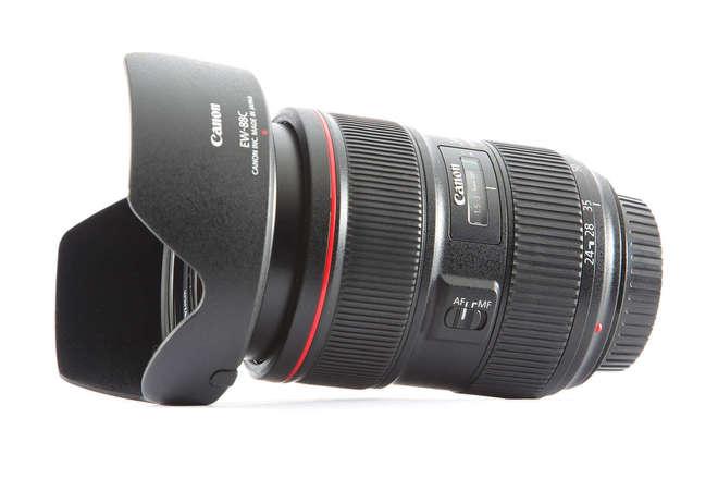 Canon EF 24-70mm f/2.8L II USM Lens + Tiffen Variable ND